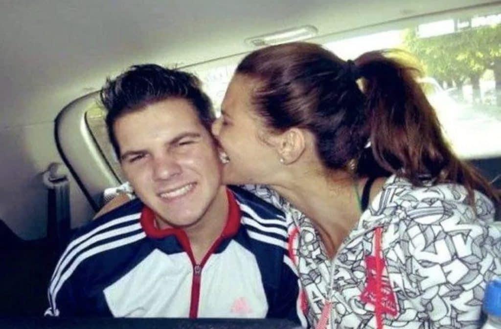 Dayane Mello con il fratello Lucas
