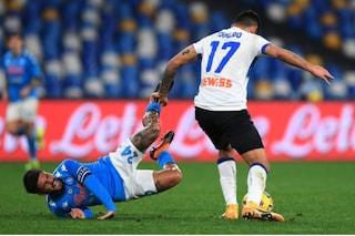 La Coppa Italia con la partita Napoli-Atalanta conquista gli ascolti tv