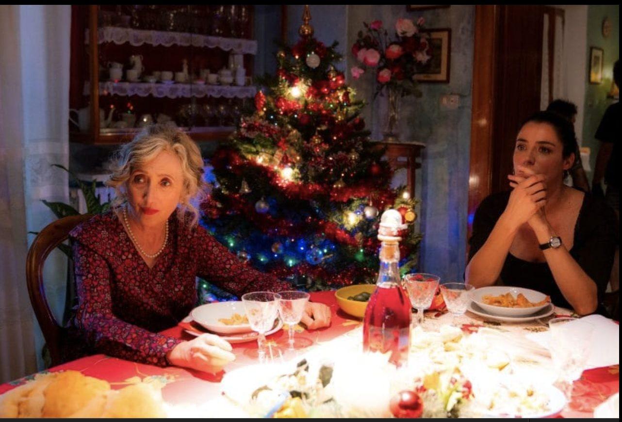 Lunetta Savino e Luisa Ranieri sul set