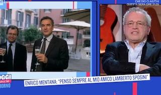 """Enrico Mentana: """"Lamberto Sposini è un fratello"""""""