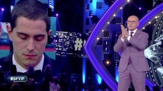"""GFVip, Tommaso Zorzi deluso da Alfonso Signorini: """"Il suo discorso mi ha rovinato la semifinale"""""""