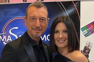 """Amadeus su Giovanna Civitillo a Prima Festival: """"Sono contento ma non è dipeso da me"""""""