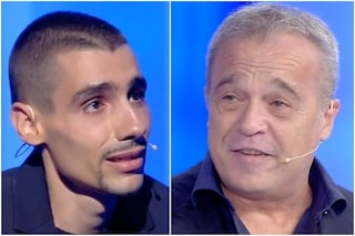 """Claudio Amendola a C'è posta per te per Giuseppe: """"Combatti come un leone"""""""