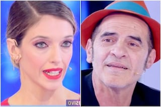 Francesco Baccini contro Guenda Goria minaccia di lasciare lo studio a Live - Non è la d'Urso