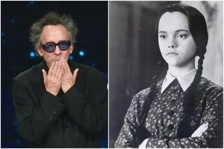 Tim Burton dirige una serie Netflix su Mercoledì della Famiglia Addams