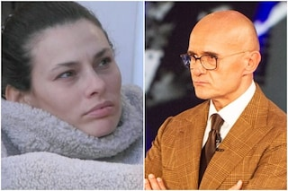 Alfonso Signorini è entrato nella casa del Grande Fratello Vip per consolare Dayane Mello