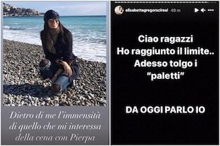 """Elisabetta Gregoraci su Instagram: """"Che mi frega della cena con Pierpaolo"""", ma non è lei a scrivere"""
