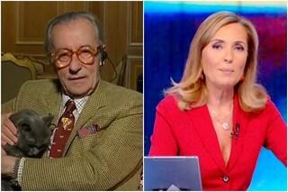 """Vittorio Feltri: """"Chi vorrei al governo? Hitler"""", la reazione di Barbara Palombelli"""
