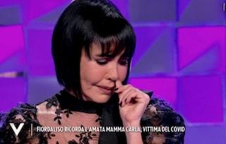 """Il dolore di Fiordaliso: """"Mia madre portata via dal Covid, dall'ospedale mi disse 'sto morendo'"""""""