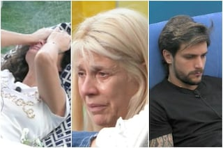 GFVip, la reazione dei concorrenti alla morte del fratello di Dayane Mello