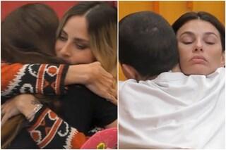 """GFVip, l'abbraccio fra Dayane, Tommaso Zorzi e Stefania Orlando: """"Lasciamoci tutto dietro"""""""