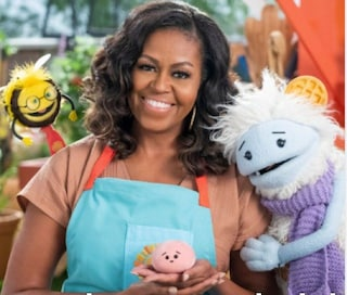 Michelle Obama sarà su Netflix con Waffles and Mochi un nuovo programma per bambini