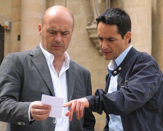 Luca Zingaretti e Peppino Mazzotta