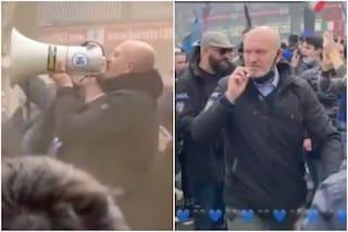 Critiche ad Andrea Pucci senza mascherina, baci e abbracci con gli ultras