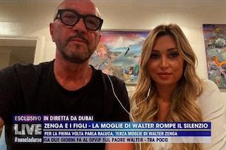 """Raluca Rebedea difende il marito Walter Zenga: """"Andrea rifiutò l'invito al nostro matrimonio"""""""