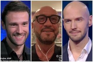 """GFVip, Walter Zenga incontra Andrea e Nicolò: """"Lasciamoci il passato alle spalle"""""""