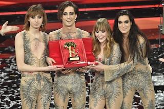 I Maneskin sono i vincitori del Festival di Sanremo 2021