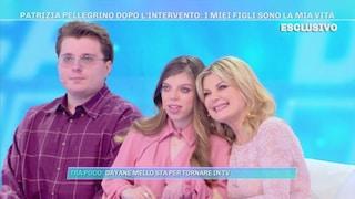 """Patrizia Pellegrino presenta i figli, tra cui Arianna: """"Lei è nata con una malattia molto rara"""""""