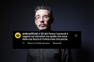 Willie Peyote ha chiesto scusa a Francesco Renga, Ambra Angiolini difende l'ex compagno