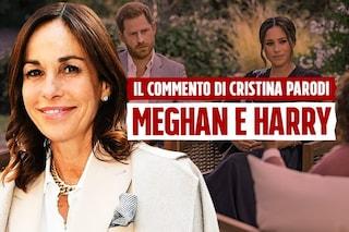 """Cristina Parodi: """"Meghan è un'attrice, Harry non voleva che la storia di sua madre si ripetesse"""""""