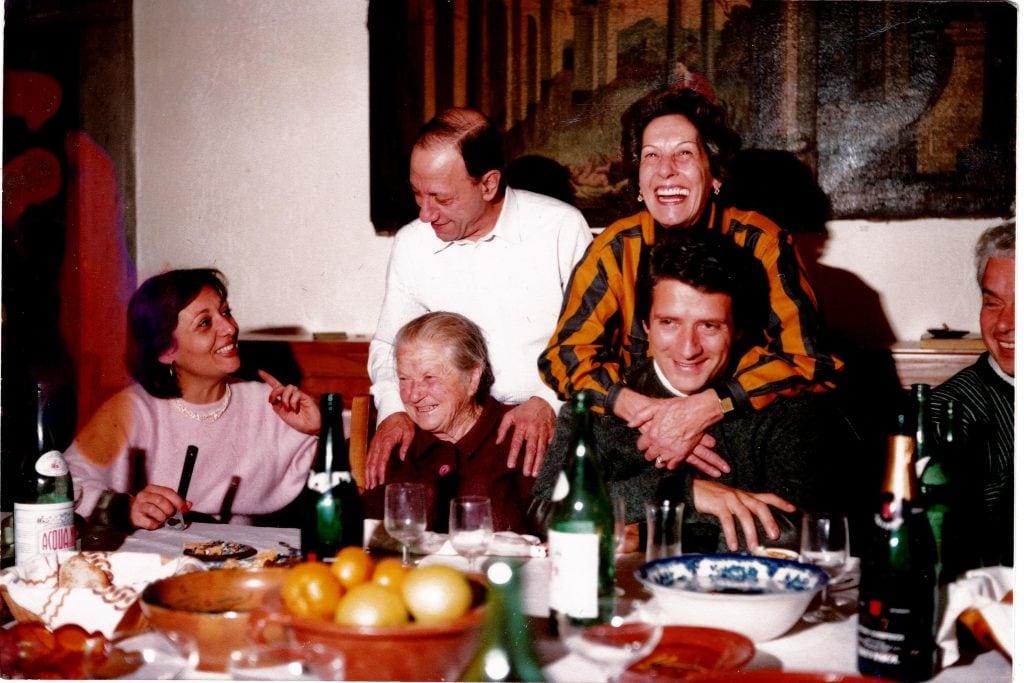 La famiglia di Renato Carosone. Foto per gentile concessione di Sandrino Aquilani e Carosone.it