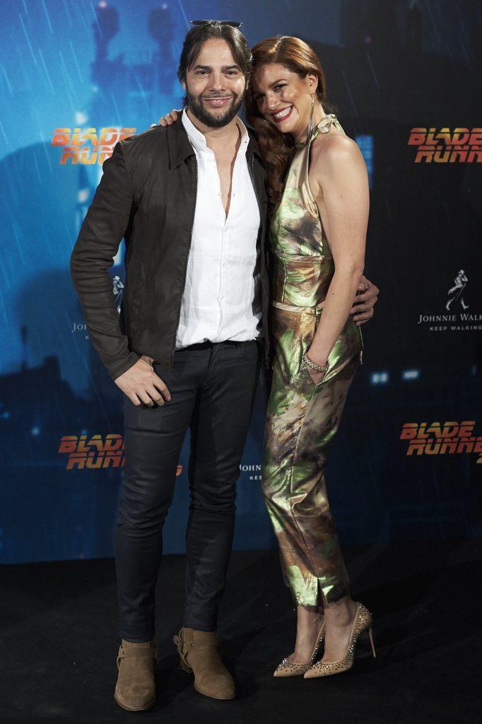 Joaquin Cortes e la compagna Monica Moreno
