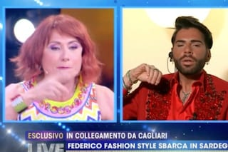 """Federico Fashion Style scappato in Sardegna per poter lavorare: """"Non ho fatto nulla di male"""""""