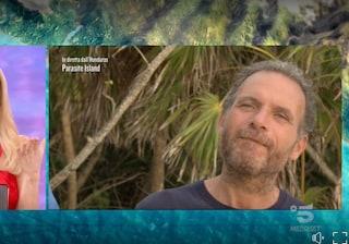 Il Visconte Ferdinando Guglielmotti è il primo eliminato: resta a Parasite Island