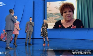 Fedez e Orietta Berti pensano a un duetto, l'annuncio in diretta Tv