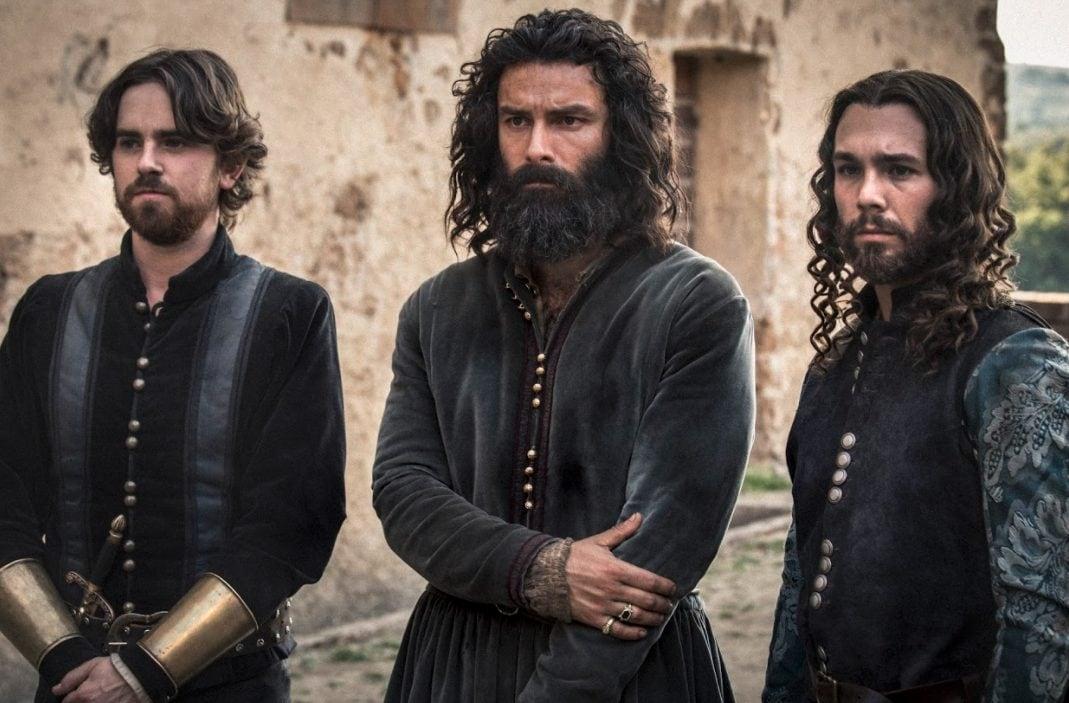 Freddie Highmore è Stefano Landi, Aidan Turner è Leonardo, Carlos Cuevas è Salai.