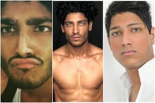 Il mistero degli occhi di Akash Kumar, ereditati dalla madre o ritoccati col brightocular?