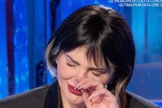 Arisa in lacrime per la sua storia d'amore con Andrea Di Carlo
