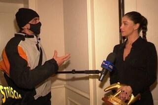"""""""Belén Rodriguez a una festa senza mascherina"""": la showgirl riceve il tapiro e fa chiarezza"""