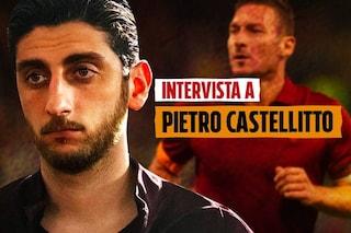 """Speravo de morì prima, Pietro Castellitto: """"Non sono la macchietta di Totti"""""""