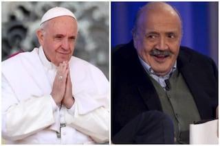 """Maurizio Costanzo riparte con il suo Show: """"Il mio sogno è ospitare Papa Francesco"""""""