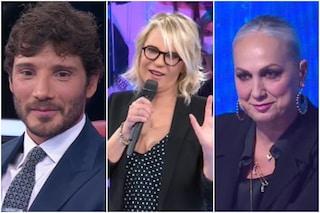 """Stefano De Martino 'corteggia' Alessandra Celentano, De Filippi: """"No, ad Amici abbiamo già dato"""""""