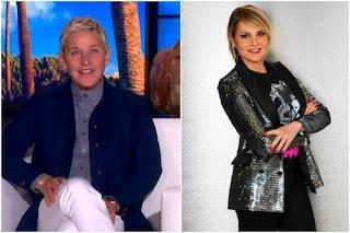 Ellen DeGeneres manda un videomessaggio a Simona Ventura prima di Game of Games