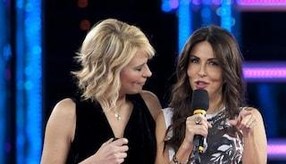 Sabrina Ferilli ospite della prima puntata del serale di Amici 20