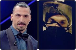 """Ibrahimovic ha rischiato Sanremo per un incidente: """"Mi ha portato un motociclista milanista"""""""