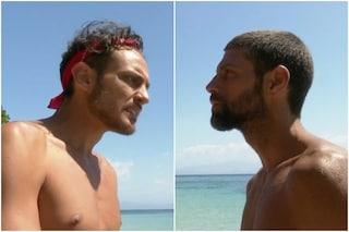 """Isola dei Famosi, Awed e Gilles Rocca si scontrano: """"Oltre al regista chi sei?"""""""