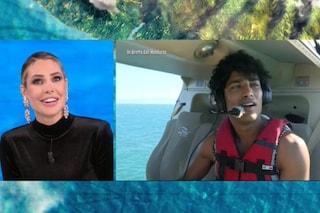 """Akash: """"Ho paura dell'acqua"""", Ilary Blasi: """"E sei venuto a fare l'Isola dei famosi?"""""""