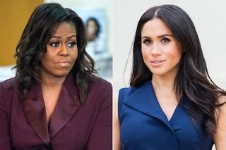 """Michelle Obama sta con Meghan Markle: """"Non mi sorprende sentirla parlare di razzismo"""""""