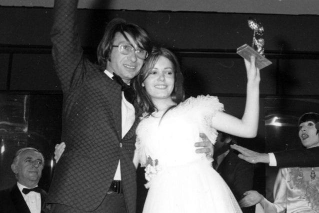 Nicola Di Bari e Nada vincitori del Festival di Sanremo 1971
