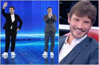 """Pio e Amedeo: """"Il bebè di Belén non è di De Martino ma del parrucchiere"""", la reazione di Stefano"""