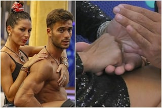 """I segreti di Elisabetta Gregoraci al GF Vip, Pierpaolo: """"I messaggi sulle mani? Una confidenza"""""""