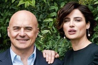 """Luisa Ranieri e Luca Zingaretti vincono gli ascolti tv con """"Il giudice meschino"""", boom per Fazio"""