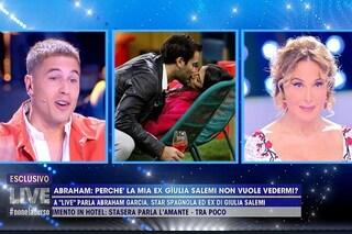 Perché Giulia Salemi rifiuta di vedere l'ex Abraham Garcia: c'entra Pierpaolo Pretelli