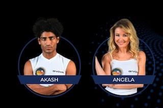 Isola 2021, i nominati della seconda puntata: Akash Kumar e Angela Melillo