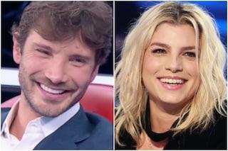 Stefano De Martino ironizza sul suo ruolo di giudice di Amici 2021, la replica di Emma Marrone