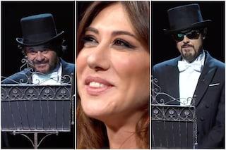 Canzone segreta, Virginia Raffaele si commuove per la sorpresa di Lillo e Greg